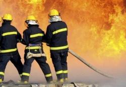 Požár rodinného domku v Horní Vsi