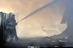 V Litvínově hoří skládka odpadu, požár mají hasiči pod kontrolou