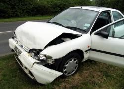 Dopravní nehoda v Horním Jiřetíně