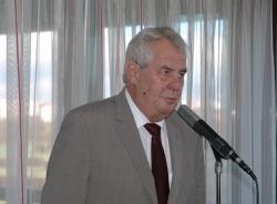 Prezident Miloš Zeman je pro prolomení těžebních limitů