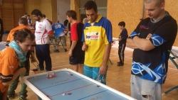 Stolní hokejisté startovali v Ostravě