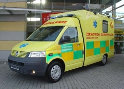 Nová výjezdová základna záchranářů ZZS v Klínech na Mostecku